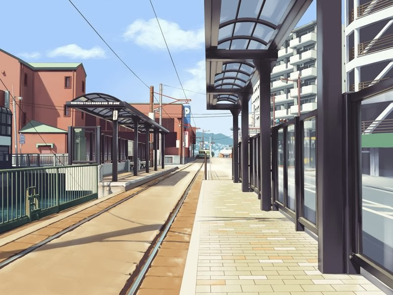 Cute Wallpapers For Lockers Anime Landscape City Anime Background